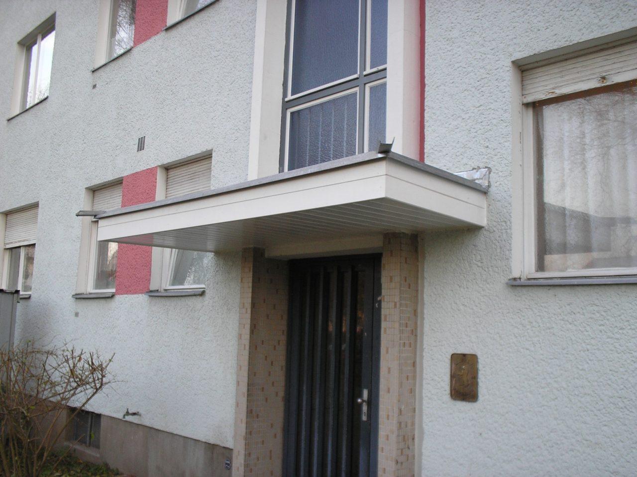 Vordach Beton vordach neu r alisch bauausführungen